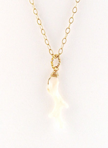 image of White Coral Necklace